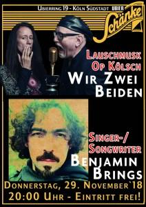"""Kölsch is mih wie Karneval!  -  """"Wir Zwei Beiden"""" + Benjamin Brings"""
