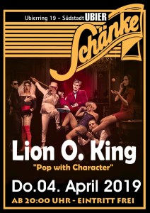 """Lion O. King"" ""Pop with Character"""