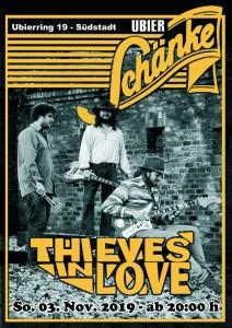 """""""Thieves In Love"""" - Eintritt frei"""
