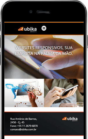 Criação e Desenvolvimento de de sites no Tatuapé