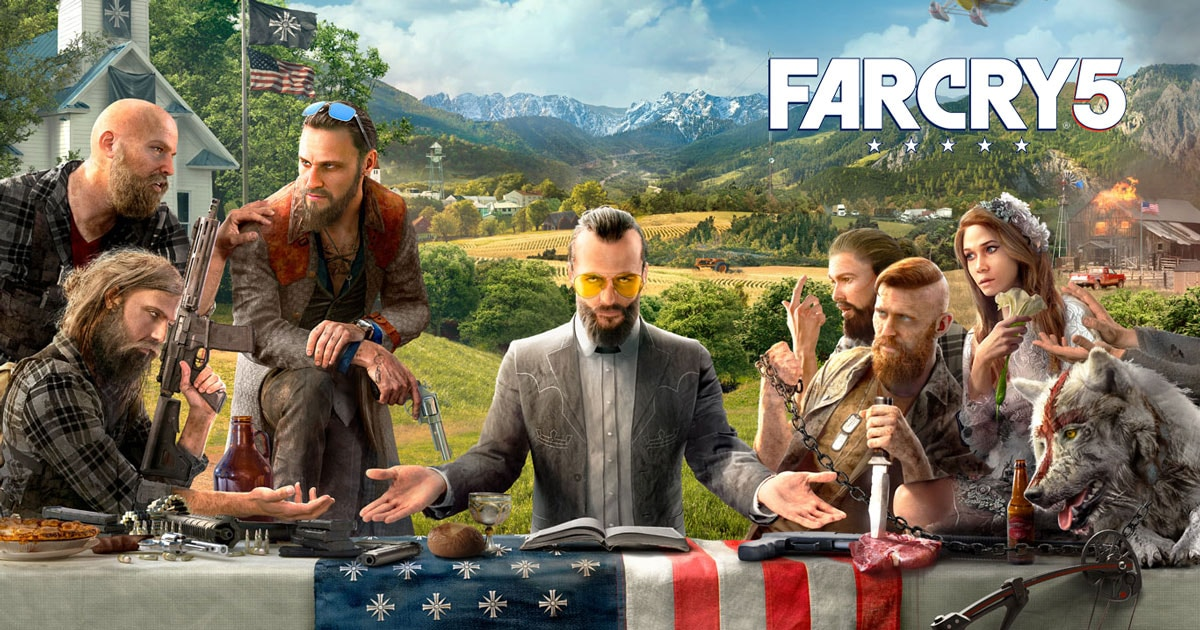Far Cry 5 on PS4  Xbox One  PC   Ubisoft  US
