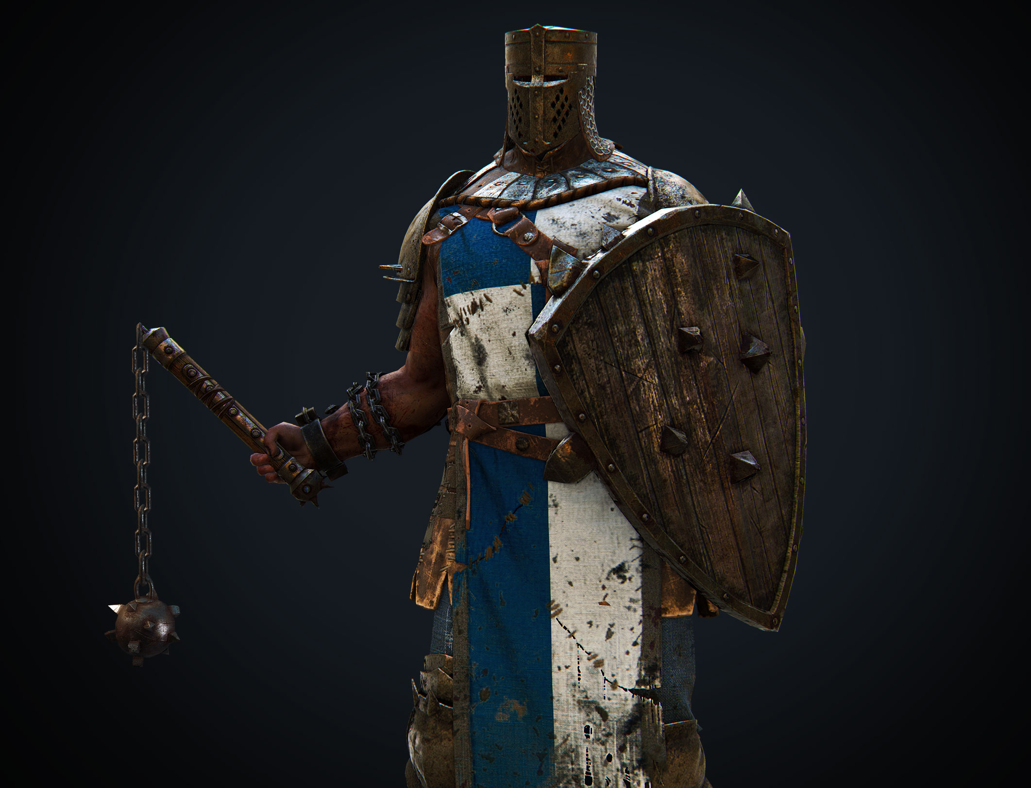 Knights Armor Background