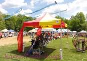 Hoop tent 1