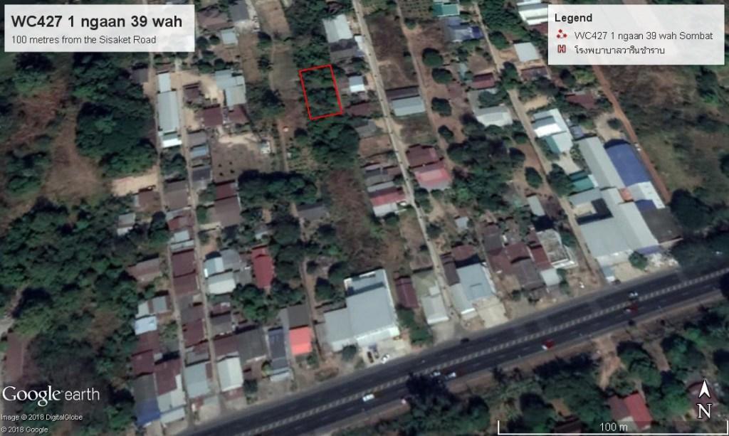1 Ngaan 39 Wah land plot Warin Chamrap