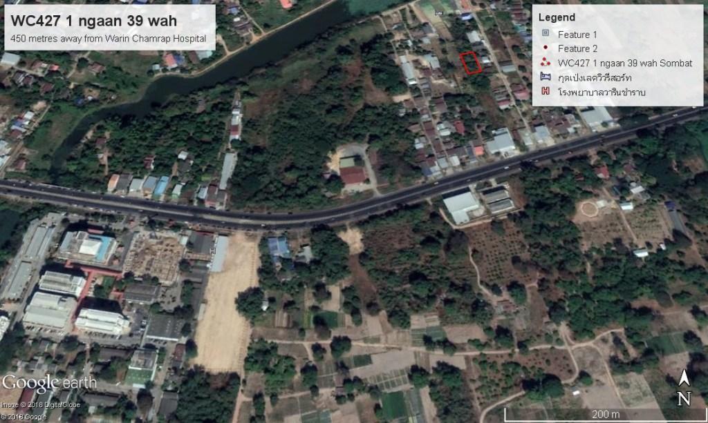 land plot Warin Chamrap
