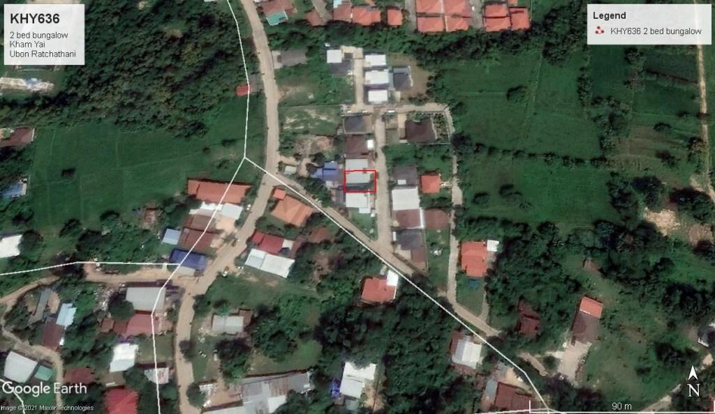 2 bed bungalow Kham Yai Ubon Ratchathani