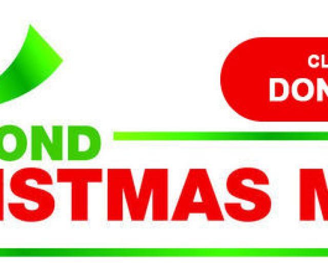 Christmas Mother Donate Button