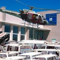 Los gorrillas del Hospital Virgen de las Montañas de Villamartín declaran una huelga indefinida por impagos