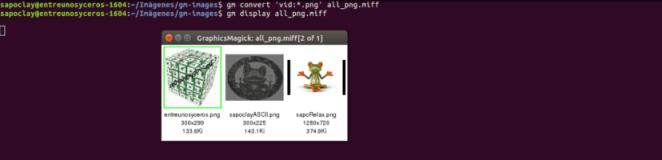Imagens do diretório GraphicsMagick