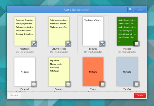 Ubuntu 18.04 LTS မှာ default ပါဝင်လာမဲ့ To-Do App