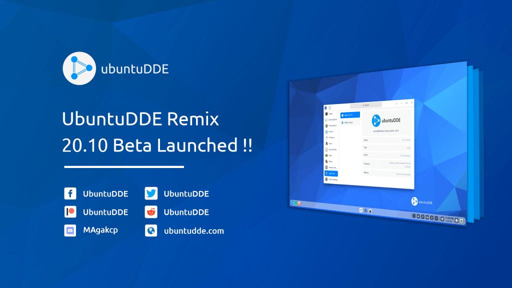 UbuntuDDE Remix Groovy Beta