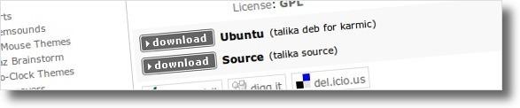"""Clique na versão """"Ubuntu"""""""