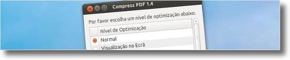 CompressPDF em funcionamento