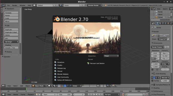 blender 2.70 PPA