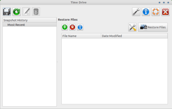 Time Drive - A User friendly Utility for Back Up your Files Under Ubuntu