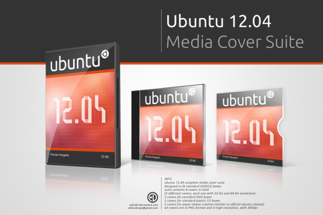 Ubuntu 12.04 Cover Media Suite