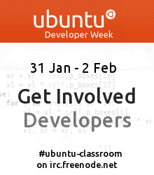Ubuntu Developer Week: Summary Day 1, Outlook Day 2