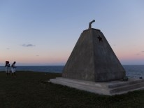 Tofinho's Monument of Fallen Heroes honoring the fallen soldiers during the Independence war with Portugal