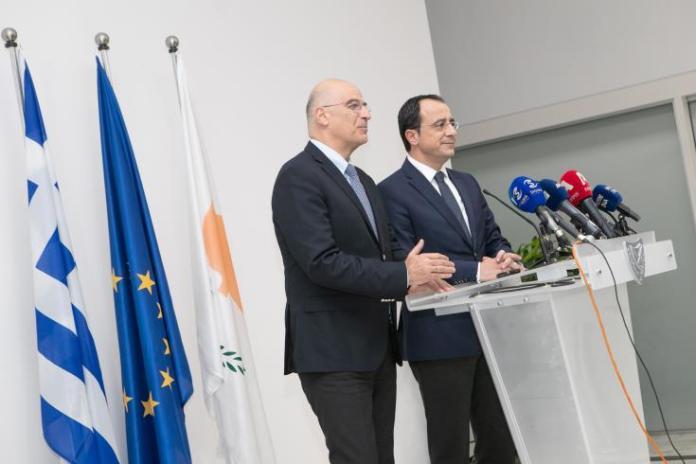 Cyprus and Greece urge countries to join them in their common partnerships for stability in the region