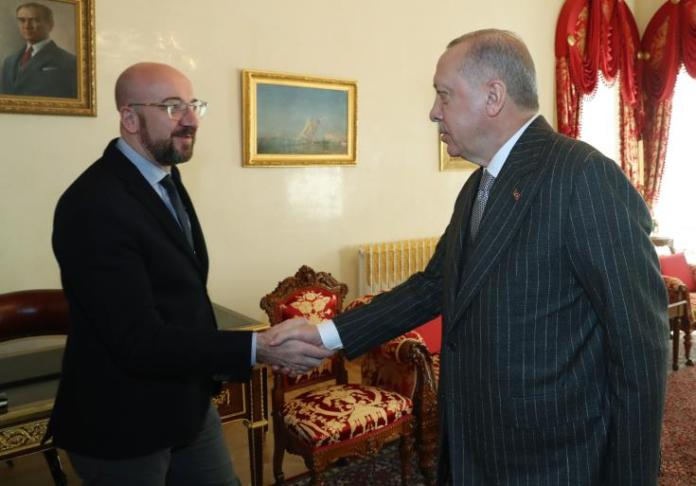 "European Council President Charles Michel has reiterated the EU`s position on Turkey`s unauthorized drilling, where ""the EU stands in full solidarity with Cyprus,"""