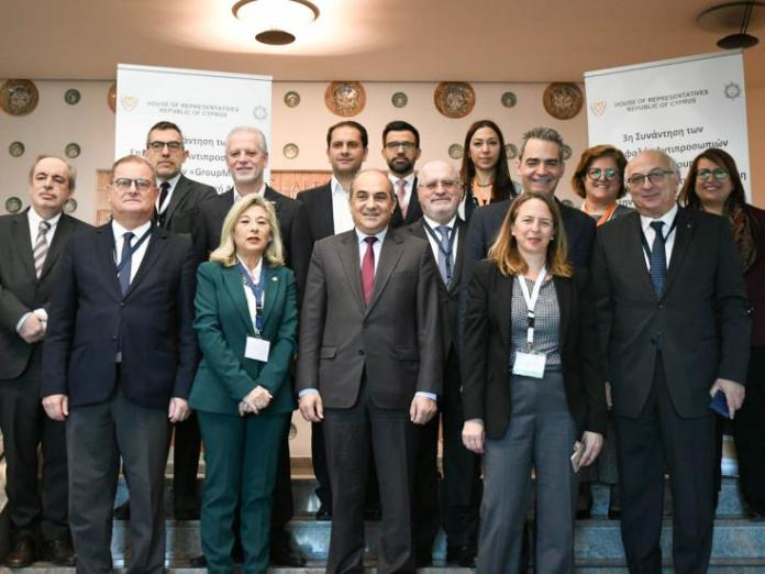 """Group Med"" parliamentary joint statement expresses full support to efforts for Cyprus solution"
