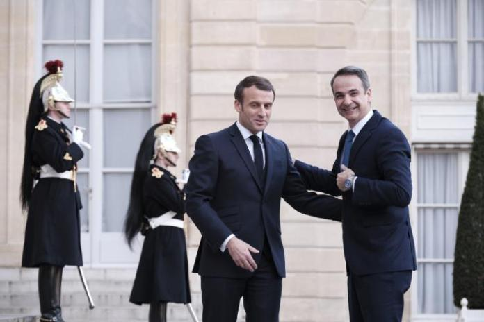 Macron and Mitsotakis jointly denounce Turkish provocative actions