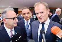 EPP President Donald Tusk pledges support to Cyprus' independence and sovereignty