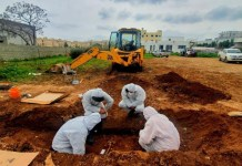 The Committee on Missing Persons in Cyprus (CMP) recovered on Friday the remains of one person in Famagusta.