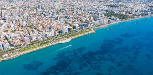 Limassol from aove