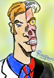 Two Face - by Roopam