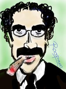 Groucho - by Roopam