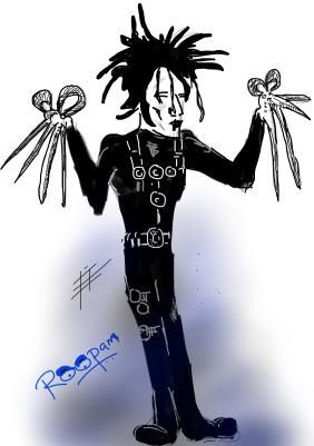 Edward Scissorhands - by Roopam