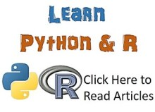 Learn Python and R