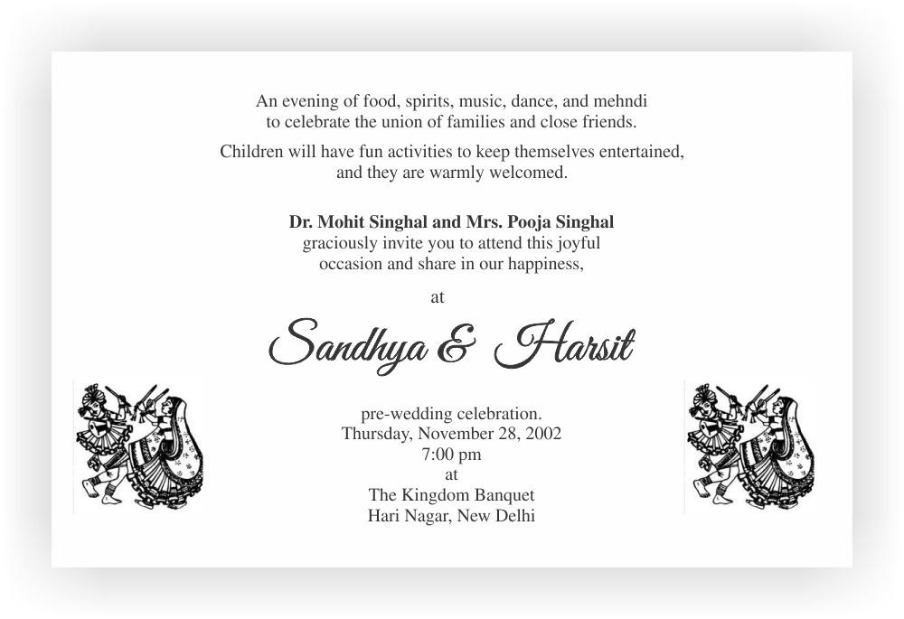 Beautiful Wedding Invitation Wording