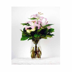 Pink Lilies Bunch
