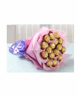 Pink Chocolate Special Bouquet