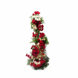 Roses & Carnations flowers Standing Arrangement