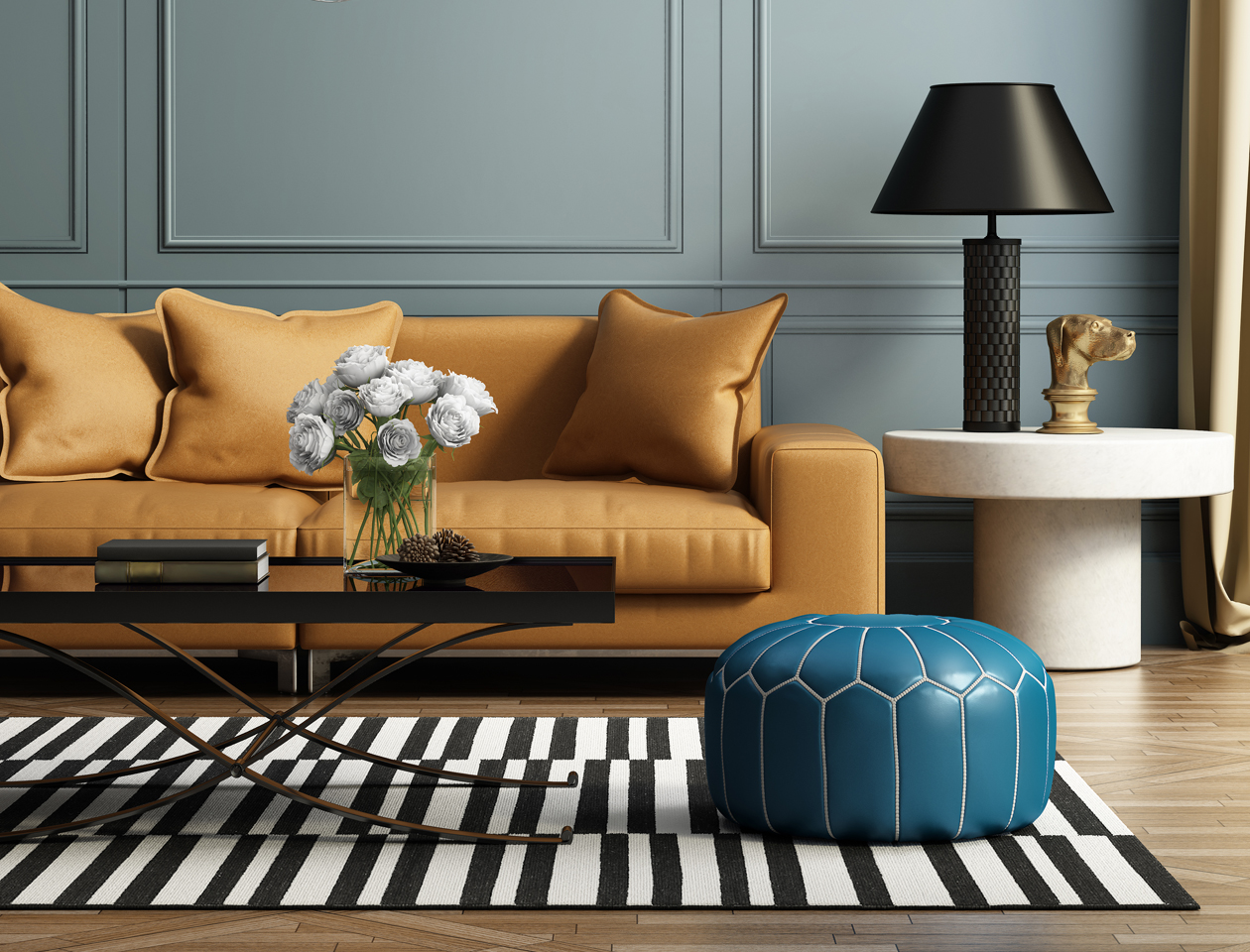 Seven Essential Tips For Mixing Modern And Antique Furniture