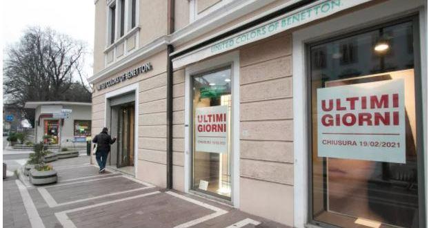 Monfalcone chiude il negozio United Colors Of Benetton