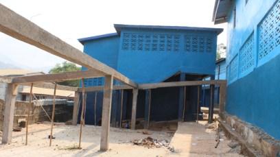 Das Waisenhaus in der Bauphase