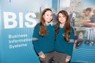 Students from Colaiste Choilm Ballincollig - Jennifer Ryan and Enya McNamara