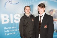 Students from Christian Brothers - Luke Hanlon and Tristan Gifford