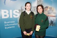 Students from Loretto College Fermoy - Shannon Fitzgerald and Aileen Hegarty