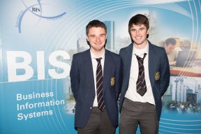 Presentation Brothers students - Conor Murphy and Pierre O'Callaghan