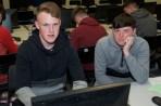 Alex Riordan and Alex Cummins from Gael Colaiste Mhuire AG.