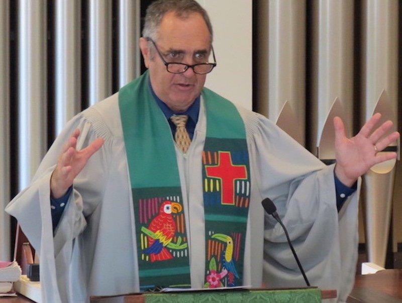 Rev. Bill preaches in June