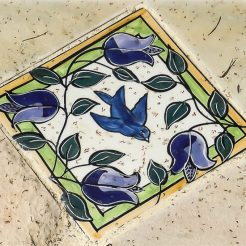 Blue Bird of Happiness - Mary-lou Pittard Tiles