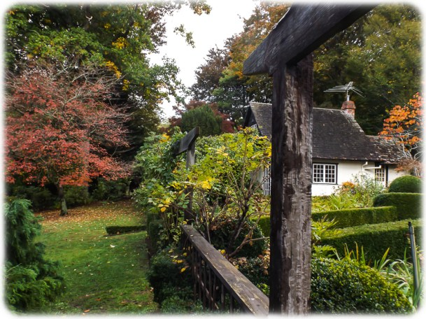 Side lawn of Cottage