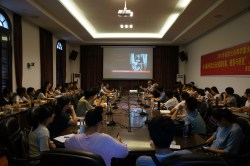 Paul Harvey delivers lecture at Fujian Normal University, Fuzhou