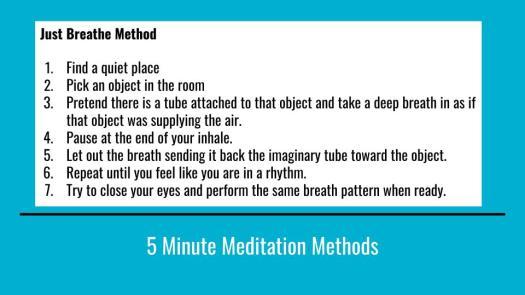 Meditation for beginners steps